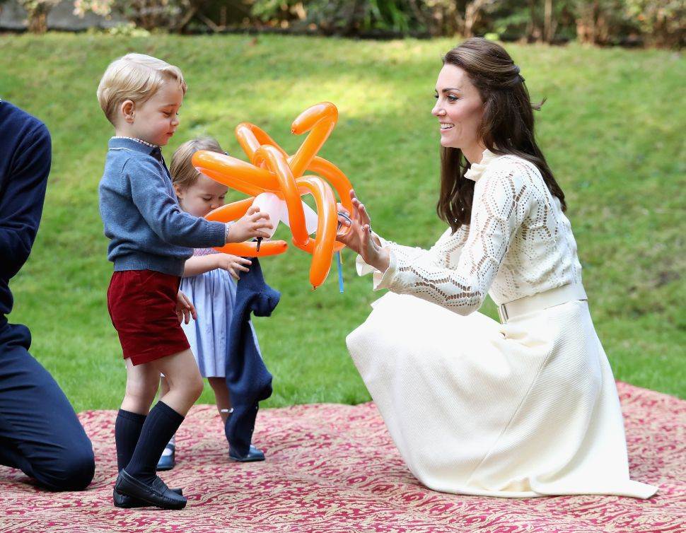 Prince William and Kate Threw a Big Kensington Palace Birthday Party for Prince George