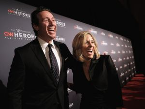 "Chris Cuomo and Alisyn Camerota, hosts of ""New Day,"" attend CNN Heroes Gala at the American Museum of Natural History on December 11, 2016."