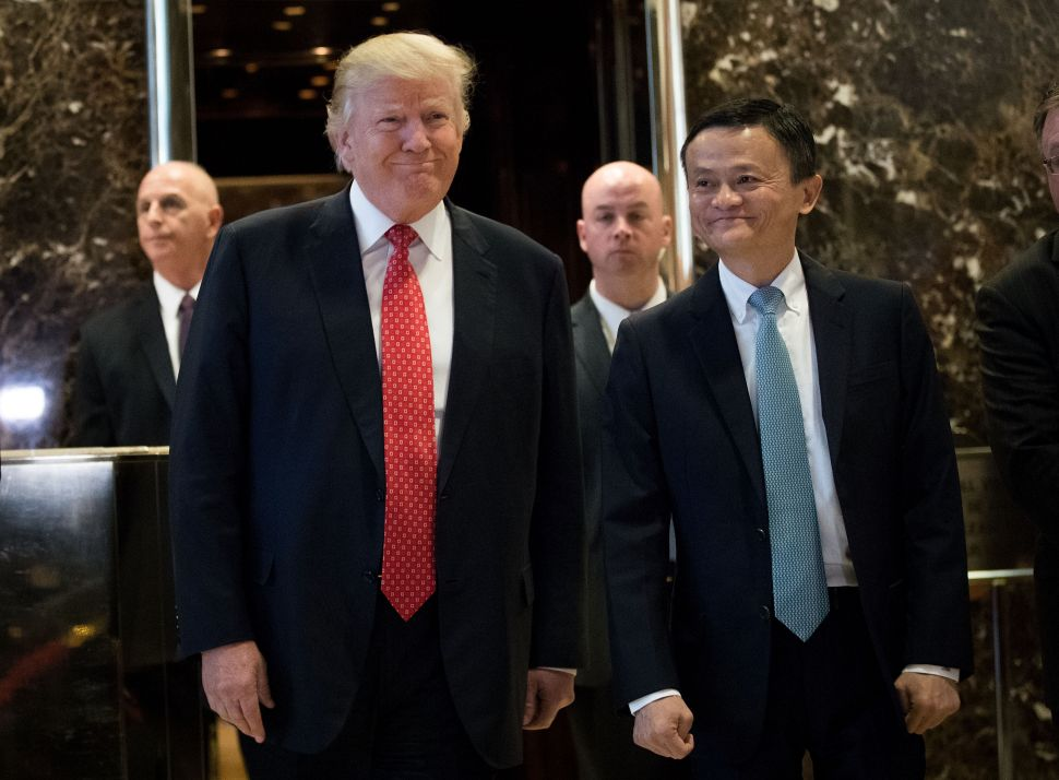 China's Alibaba Becomes Trump's New BFF With Promise to Create 1 Million US Jobs