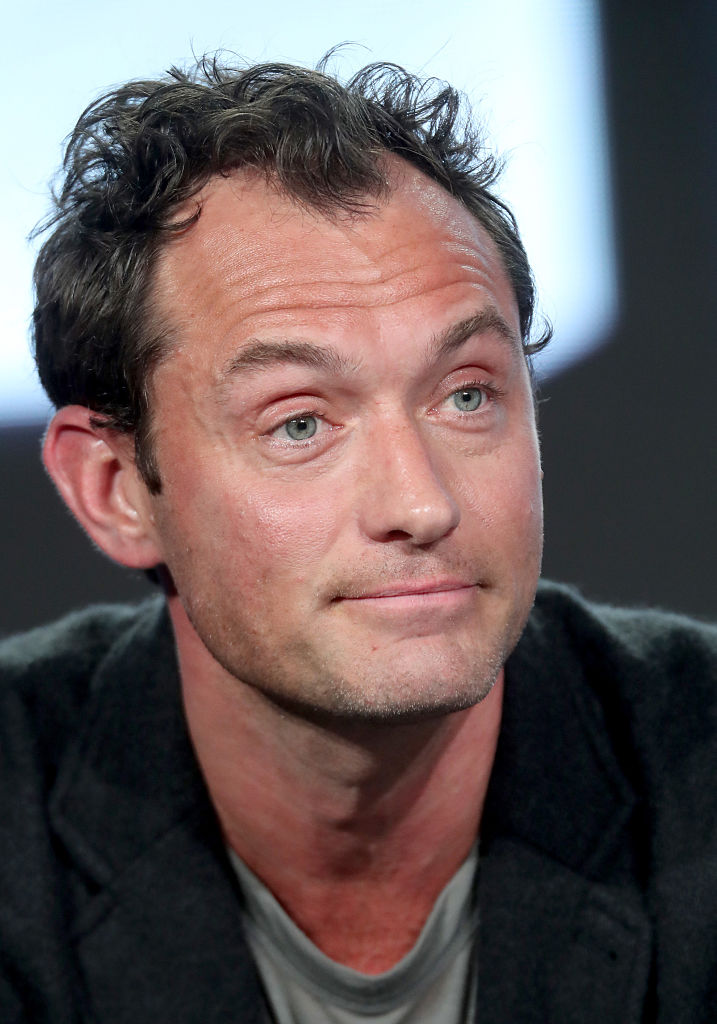 Is Jude Law Having a Midlife Crisis?