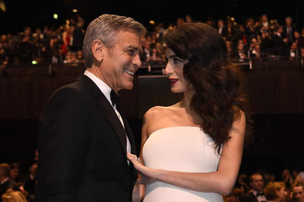 George and Amal Clooney's London Plans; Dolce & Gabbana's Home Line