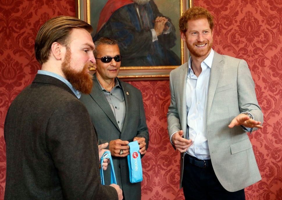 Veterans Ivan Castro and Karl Hinett Describe Prince Harry's Support