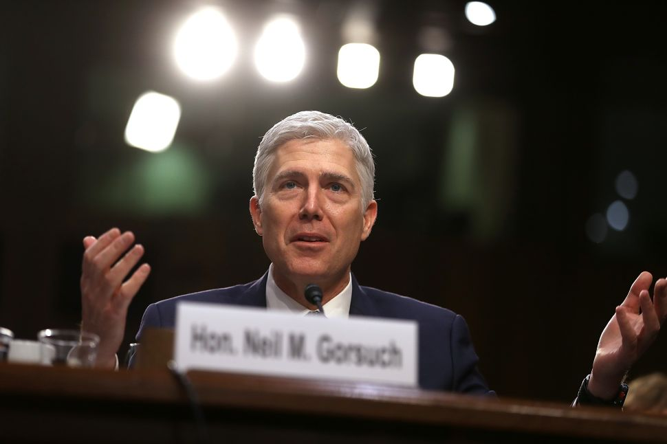 Stop Letting the GOP Play Democrats for Fools: Filibuster Neil Gorsuch