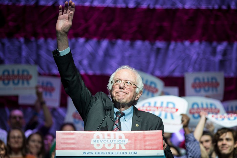 DNC Tries to Shame Bernie Sanders for His Email List