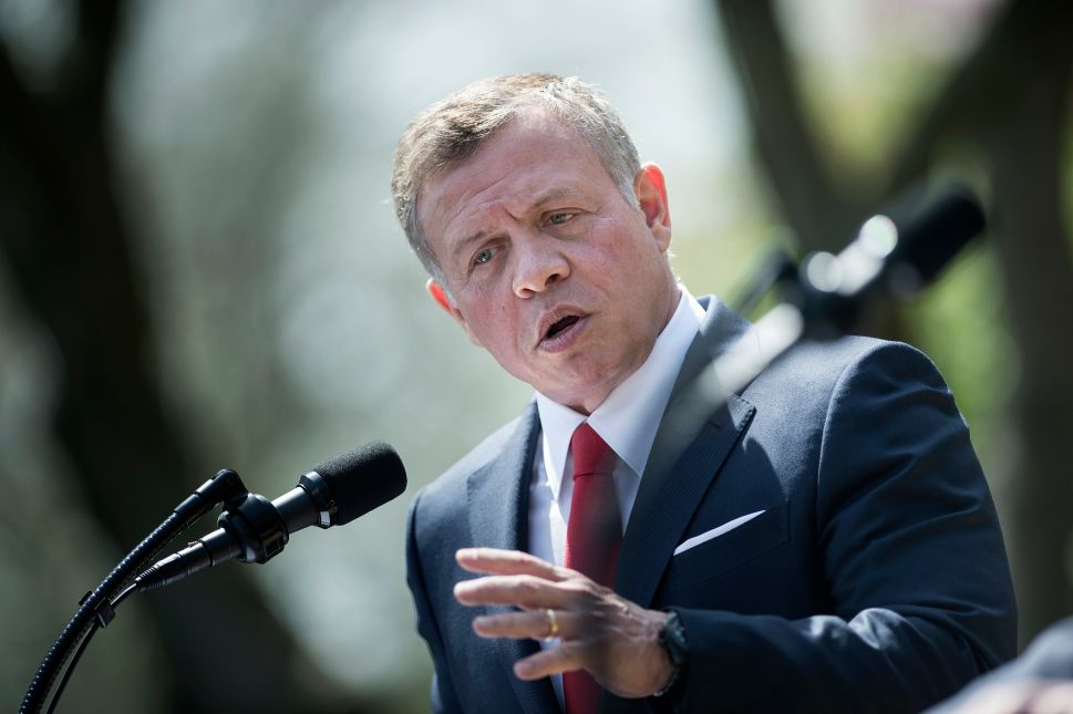 No, King Abdullah, Israel Is Not the Root Cause of Troubles in the Middle East