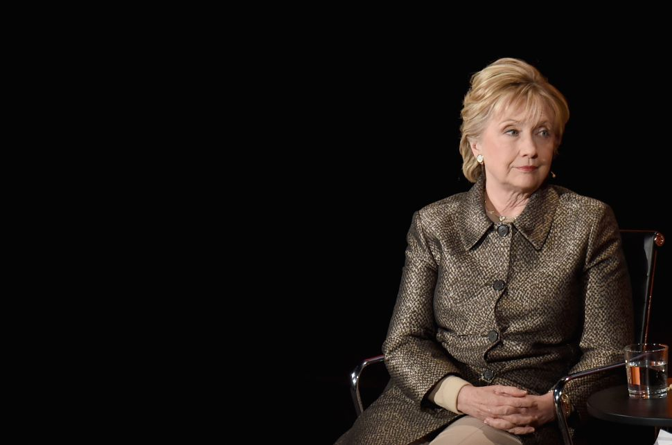 Hillary Clinton Is Still Confusing 'Misogyny' With 'Strategy'