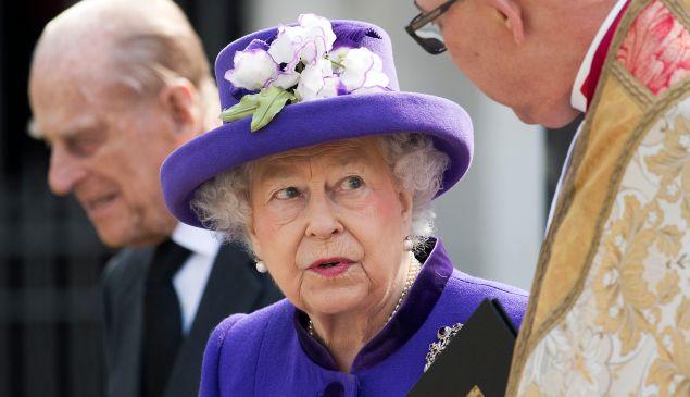 Queen Elizabeth II is now on a pair of designer shoes.