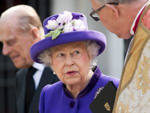 Queen Elizabeth II is now on a pair of designer shoes.