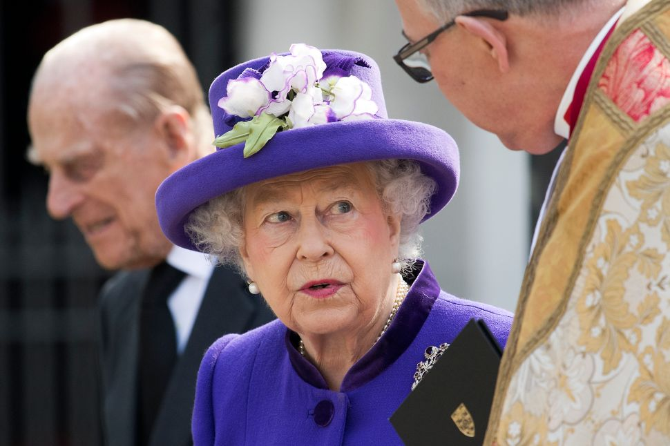 Now You Can Wear Queen Elizabeth on Your Feet