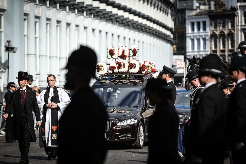 5,000 Police Attend Funeral of Murdered Parliament Guard