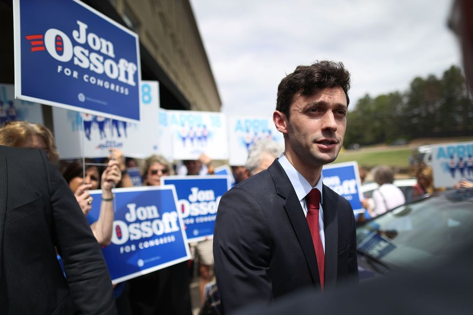 Democrat Jon Ossoff Is Poised to Strike at Georgia's Solidly Red 6th District