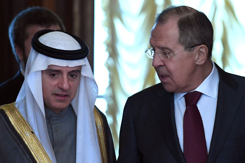 OPEC Players Saudi Arabia and Russia Agree to Disagree About Syria