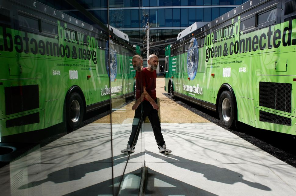 The Economic Justice Fight Inside Silicon Valley's Commuter Buses
