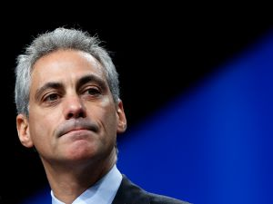 Mayor Rahm Emanuel.