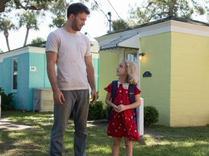 Chris Evans and Mckenna Grace in Gifted.