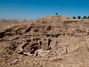 Turkey's Göbekli Tepe temple complex.