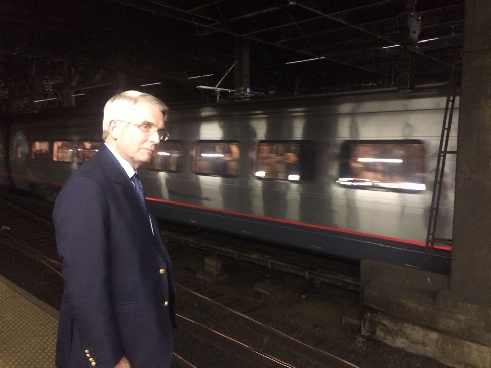 Into the Breach With Amtrak's New CEO