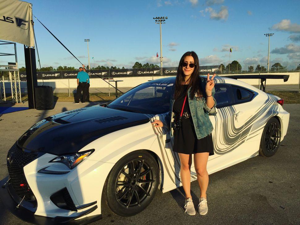Driving a Race Car Made Me Feel Like a Feminist