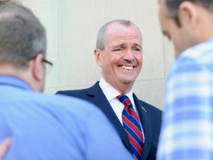 Frontrunners like Phil Murphy (above) and Lt. Gov. Kim Guadagno will be on guard during tomorrow's debate
