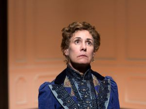 Laurie Metcalf in A Doll's House, Part 2 . The show was nominated for Best Play, while Metcalf was nominated for Lead Actress.