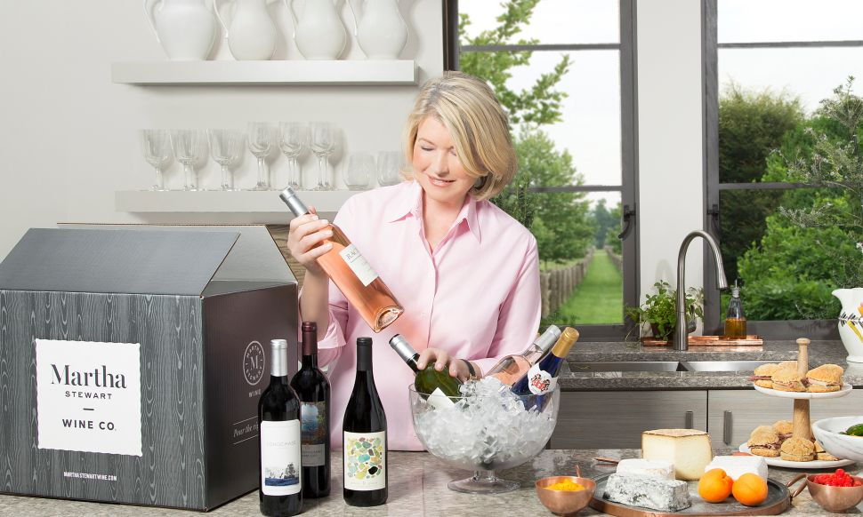 Martha Stewart's New Wine of the Month Club Is Exactly What You Need for Summer