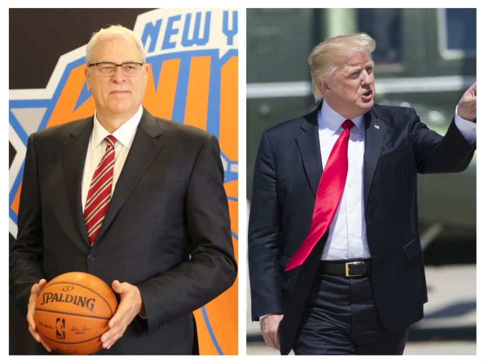 Phil Jackson and Donald Trump Are a Lot More Alike Than You Think