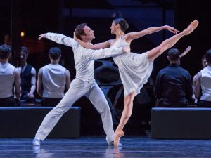 The Joffrey Ballet's Christine Rocas and Rory Hohenstein in Romeo & Juliet.