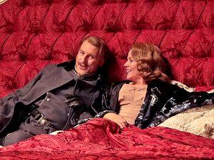 Günther Groissböck (left) deftly steals the show from Renée Fleming in 'Der Rosenkavalier'.