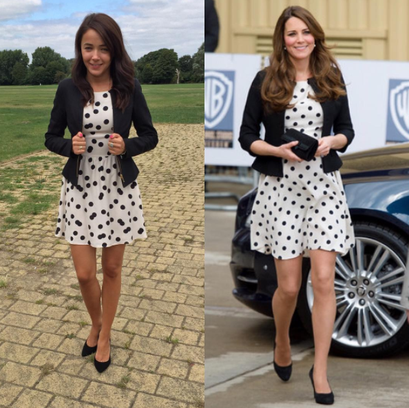 A Woman on Instagram Is Replicating Every Single Kate Middleton Outfit