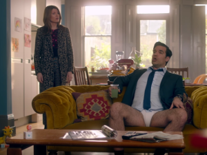 Sharon Horgan and Rob Delaney in Catastrophe.