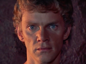 Malcolm McDowell as Caligula in the 1979 film.