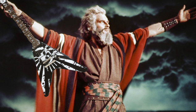 """Moses plays the original version of """"Ride the Lightning."""""""