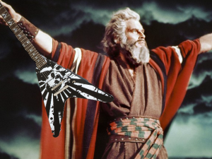 "Moses plays the original version of ""Ride the Lightning."""