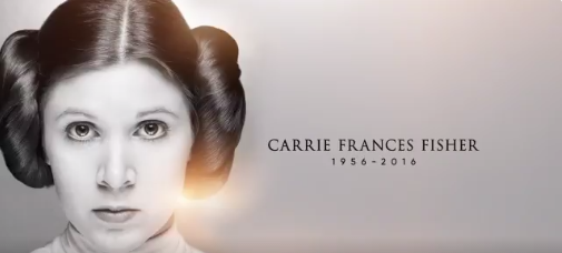 Beautiful Tribute to Carrie Fisher Is Here to Save Our Skins