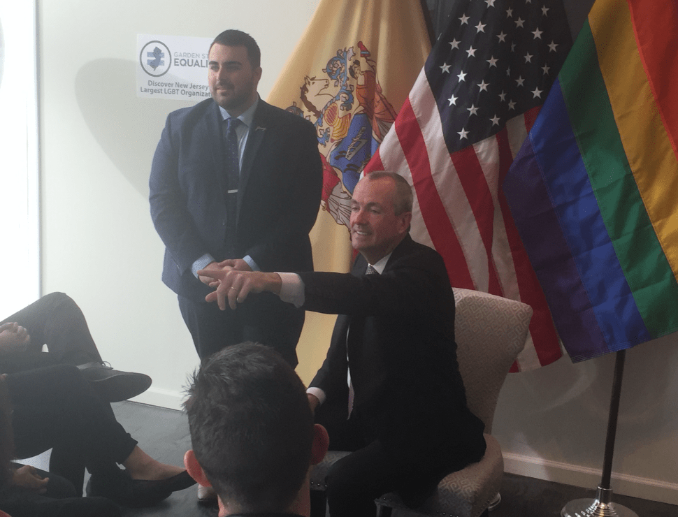 Murphy Pledges to Preserve LGBT Protections at Garden State Equality