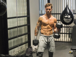 Influencer Devon Lévesque's snap might explain why Rumble Boxing is so popular right now...