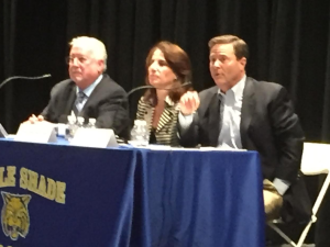 Republicans' plans to repeal the Affordable Care Act took center stage at U.S. Representative Donald Norcross's town hall Monday.