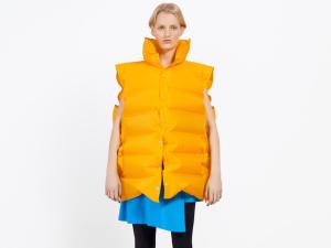 Balenciaga's inflatable fashion.