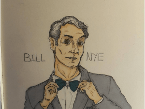 Bill Nye fan art.