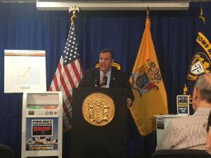 Fresh from a meeting on the opiate crisis in Washington, Christie spoke about the impact in New Jersey.