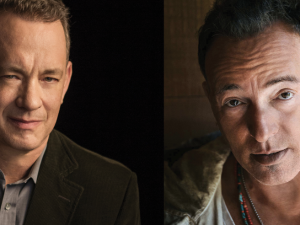 Tom Hanks and Bruce Springsteen.
