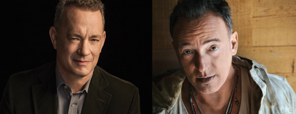 Tribeca: Bruce Springsteen and Tom Hanks Talk Taxes, Music and 'Philadelphia'