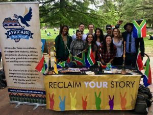 "The activists recently completed a trip to four college campuses as part of the ""Reclaiming Your Story"" tour."