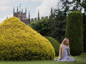 Jodie Comer as Princess Elizabeth in The White Princess.