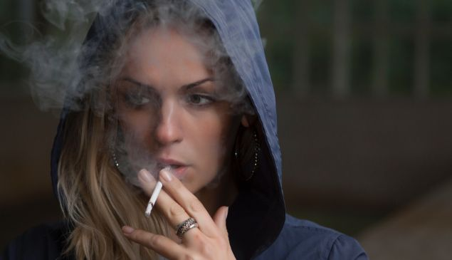One in every 20 smokers are women.