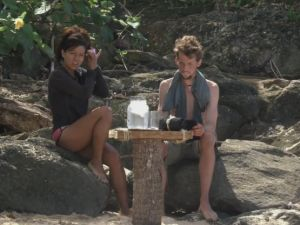 Gina and Alex decide not to use the temptation that will let one of them off the island early.