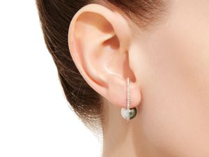 Up your ear game with this style by NATAF Joaillerie
