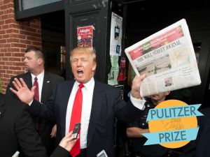 When will Trump post an angry tweet about the Pulitzers?