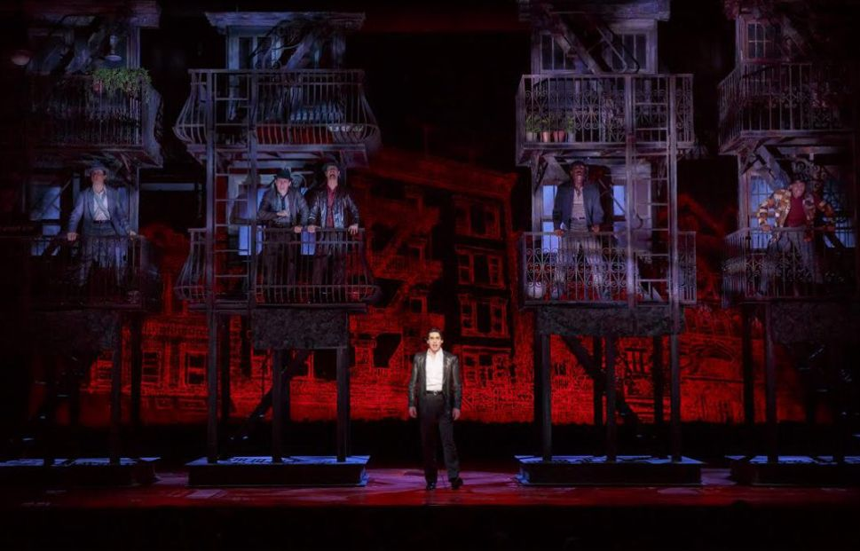 Bobby Conte Thornton on Making His 'Out of Control' Broadway Debut in 'A Bronx Tale'