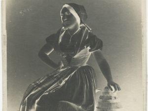 Vallon de Villeneuve's The Milkmaid.